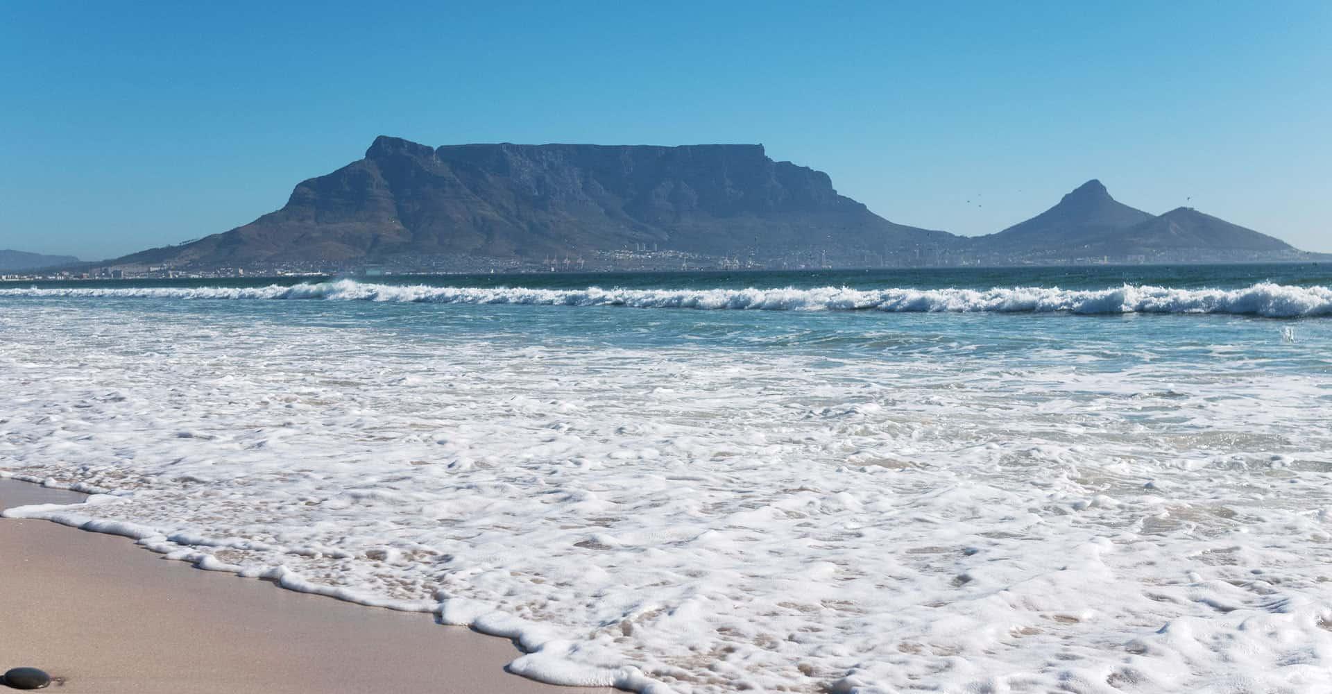 Kapstadt Strand Sunset Beach