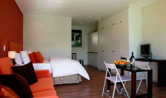 da heim Guesthouse Kapstadt Blick in das Zimmer