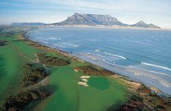 Kapstadt Golf Platz und Meer
