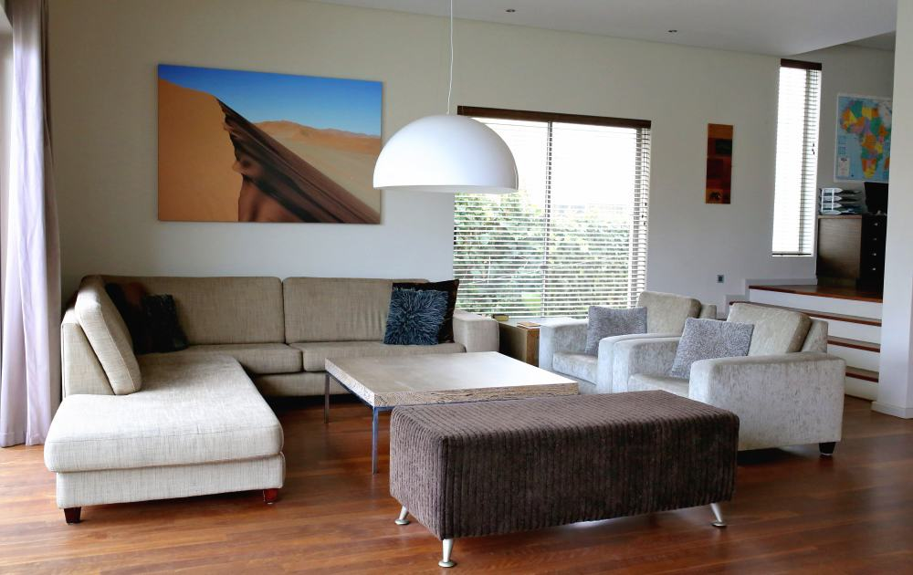Wohnbereich und Sofaecke Da House Appartement - living room with sofa in apartment