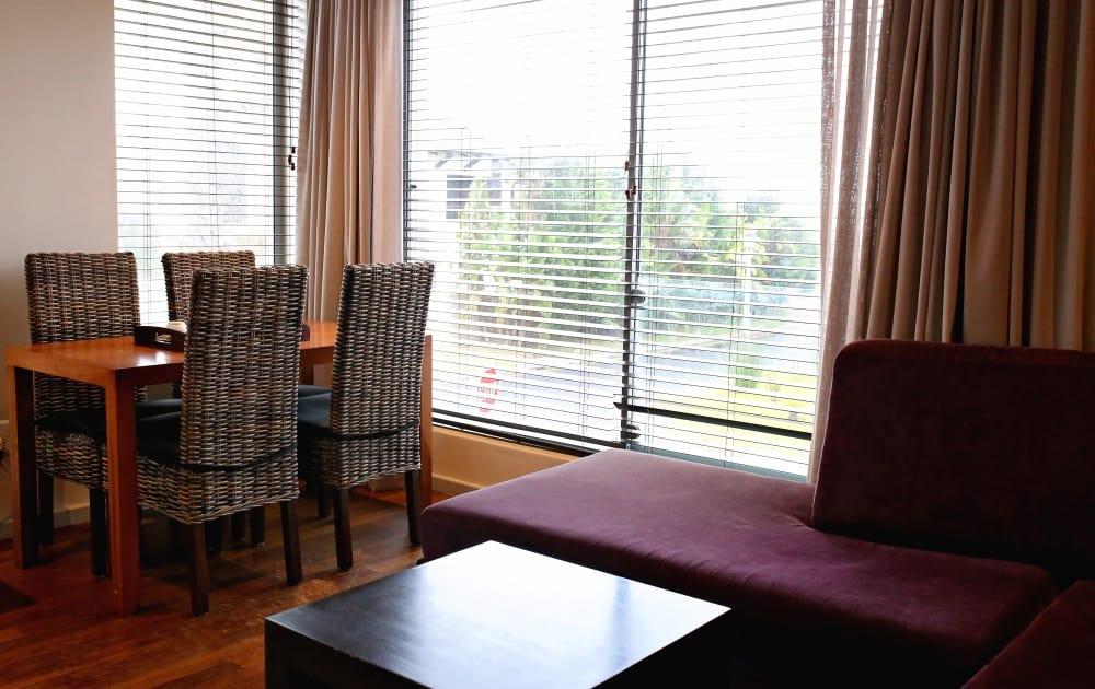 Sofa und Tisch Da Beach Appartement - Da Heim Appartements Kapstadt