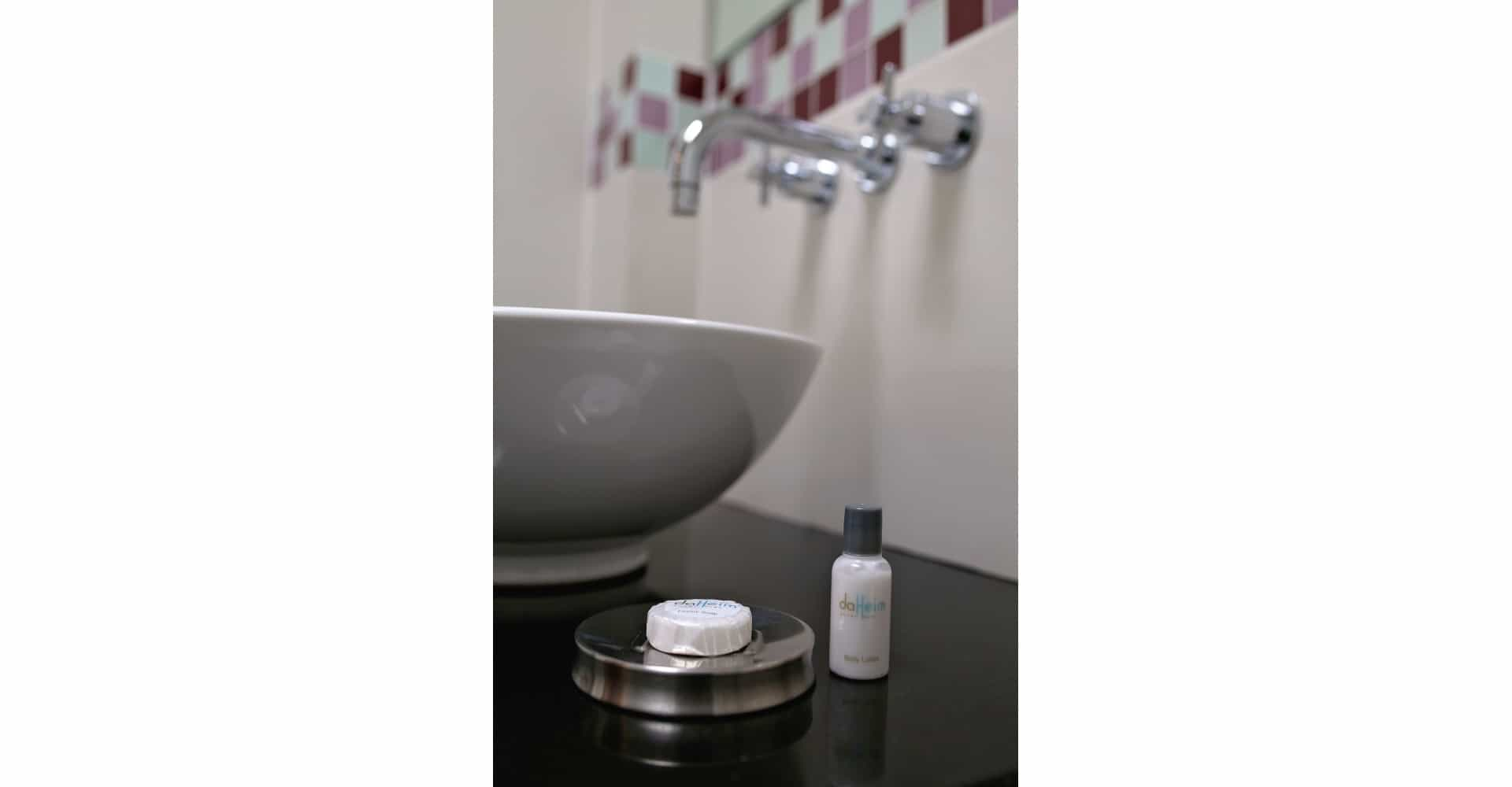 Da Heim Gästehaus Seife und Duschgel - da heim guesthouse soap